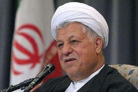 Iran's Ayatollah Akbar Hashemi Rafsanjani, head of the Expediency Discernment Council.