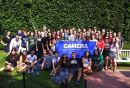 Pro-Israel student leaders pose for group picture at CAMERA's recent conference in Boston.