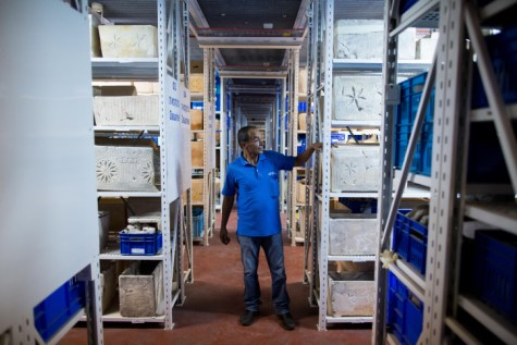 Israeli antiquities authority storage facility in Beit Shemesh
