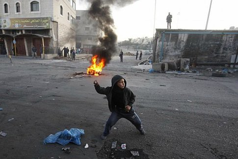 "Palestinian Authority child terrorist. ""Don't shoot. I am a child."""