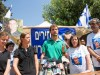 Bereaved family members of IDF soldiers Hadar Goldin and Oron Shaul whose bodies were captured after having been killed during Operation Protective Edge in 2014, address a press conference outside the Prime Minister's residence on June 29, 2016.