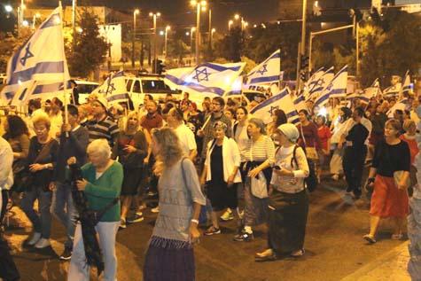 9 B'Av Jerusalem marchers 2016 / Photo credit: Gershon Elinson