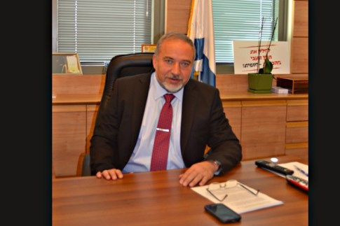 Avigdor Liberman, head of Yisrael Beiteinu and member of the Israeli Knesset. Jan. 6, 2015