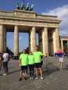 ALEH team members at Brandenburg Gate Sept. 25