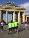 ALEH team members at Brandenburg Gate Sept. 25