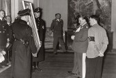 Adolf Hitler and Hermann Göring admiring art / Photo credit: Library of Congress