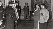 Adolf Hitler and Hermann Göring admiring art / Photo credit: Library of Congress