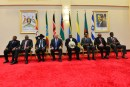 Prime Minister Benjamin Netanyahu attended a summit with African leaders in Uganda on July 4, 2016.