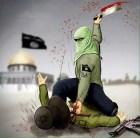 Arab Facebook page encouraging stabbing attacks.