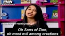 "A Palestinian Authority Arab girl recites a poem about Jews on official Palestinian Authority TV, May 29, 2015: ""Oh Sons of Zion, oh most evil among creations. Oh barbaric monkeys..."""