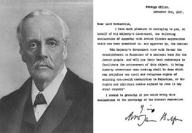 A portrait of Lord Balfour and his Declaration