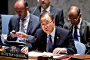 U.N. Secretary General Ban ki-Moon. Jan. 26, 2015.