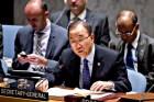 U.N. Secretary General Ban ki-Moon. Jan. 26, 2015.