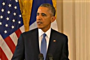 U.S. President Barack Obama. Nov. 24, 2015.