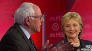 Bernie and Hillary in New Hampshire debate