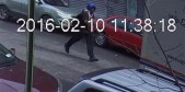 Crown Heights stabber fleeing the scene on CCTV