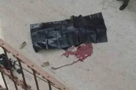 The dead terrorist in Hebron - Feb. 13, 2015