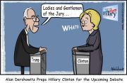Dershowitz Preps Hilllary for Debate