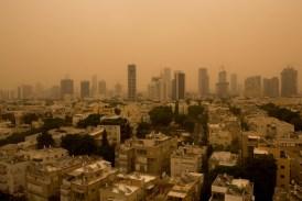 Tel Aviv in Sand