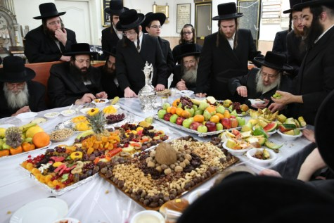 Deyzh Tu B'Shvat Seder
