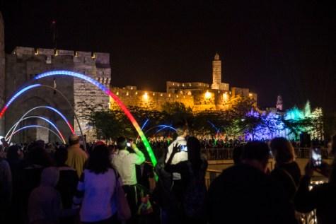 Jerusalem Light Festival 2016