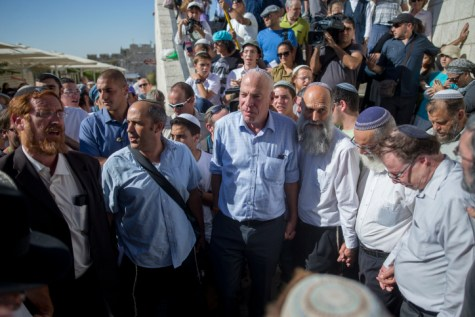 Ministers and MK at Hallel Gate