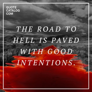 Good Intentions