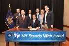 Governor Cuomo Signs First-in-the-Nation Executive Order Directing Divestment of Public Funds Supporting BDS Campaign Against Israel, June 5, 2016.