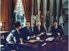 Henry Kissinger, Richard Nixon, Gerald Ford and Alexander Haig