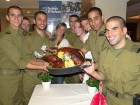 Lone Soldiers at last year's Nefesh B'Nefesh Thanksgiving celebration.