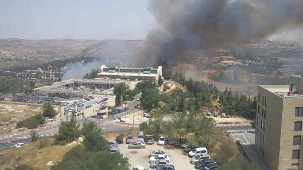 Jerusalem forest fire 5