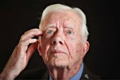 Former President of the United States of America Jimmy Carter  evidently daydreaming about Israel's demise
