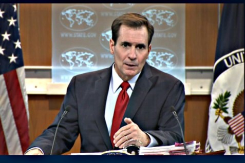 U.S. State Dept. Spokesperson John Kirby, Feb. 3, 2016.