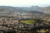 The northern Israeli city of Karmiel, in the Galilee.