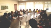 MK Avraham Neguise with African delegation / Courtesy
