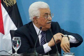 Palestinian Authority leader Mahmoud Abbas.