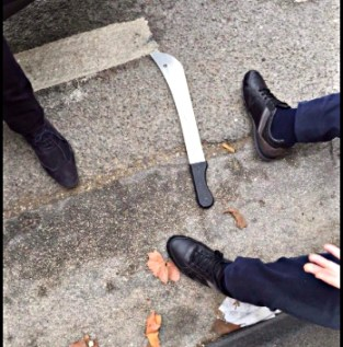 Marseille synagogue machete