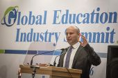 Education Minister Naftali Bennett speaks at the International Conference for Education Ministers of the OECD Organization, which took place in in Israel for the first time, at the David Citadel Hotel in Jerusalem, on September 26, 2016.