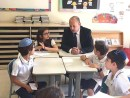 Naftali Bennett with children