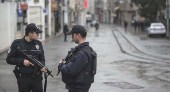Policemen patrolling the streets of Gaziantep in south-eastern Turkey / Photo credit: Depo Photos