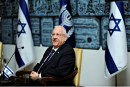 Israel's President Reuven Rivlin at the President's Residence. Feb. 10, 2016.
