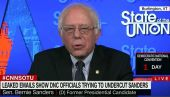 Democratic Senator Bernie Sanders in CNN interview before 2016 Democratic National Convention.