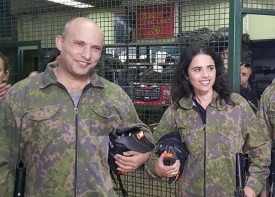 Shaked and Bennett in uniform
