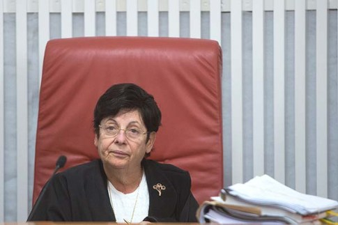 Supreme Court Chief Justice Miriam Naor