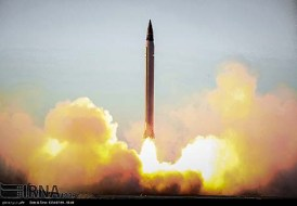 Test launch of Iran AIO 'Emad' medium-range ballistic missile.