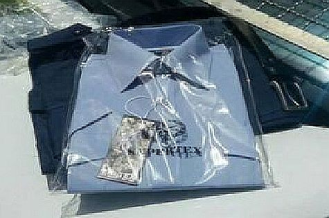 Stolen police uniform found in possession of Palestinian Authority Arab.
