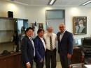 Rodney Rahman (R), MK Eli Ben Dahan, Seow Kee Quek and his Son Daniel Sze-Ping Quek (L)  May 17, 2016