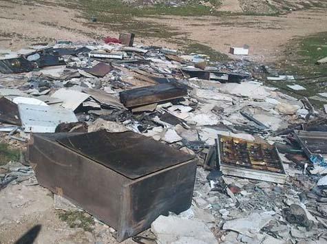 Yatir synagogue arson 1