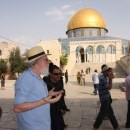Yehud Etzion on Temple Mount