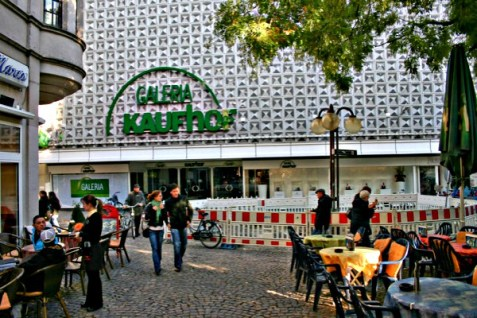 A Galeria Kaufhof department store chain store.